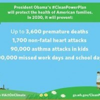 Media: N.C. Mother of Three Children with Asthma Behind Pres. Obama During Today's Clean Power Plan Announcement