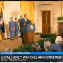 Media: M&O Supporter  & Family Stand with President Obama in his Announcement of the Clean Power Plan